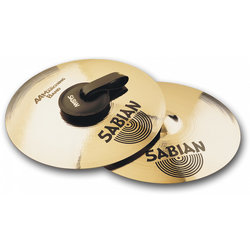 Sabian AA Marching Band Cymbal - 14, Brilliant