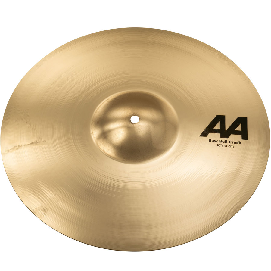 View larger image of Sabian AA Raw Bell Crash Cymbal - 16, Brilliant