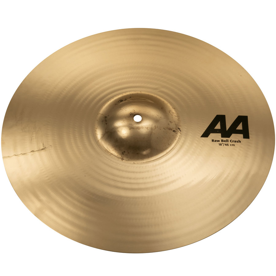View larger image of Sabian AA Raw Bell Crash Cymbal - 18, Brilliant