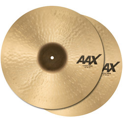 Sabian AAX Concert Band Cymbals - 18, Natural, Pair