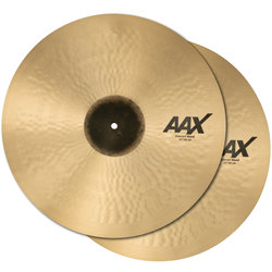 Sabian AAX Concert Band Cymbals - 20, Natural, Pair