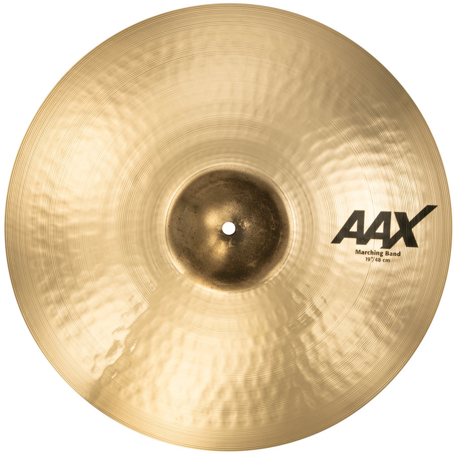 View larger image of Sabian AAX Marching Band Cymbal - 19, Brilliant, Single