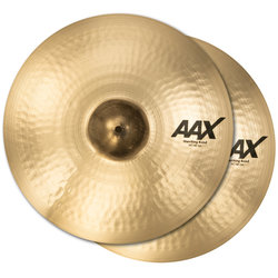 Sabian AAX Marching Band Cymbals - 19, Brilliant, Pair
