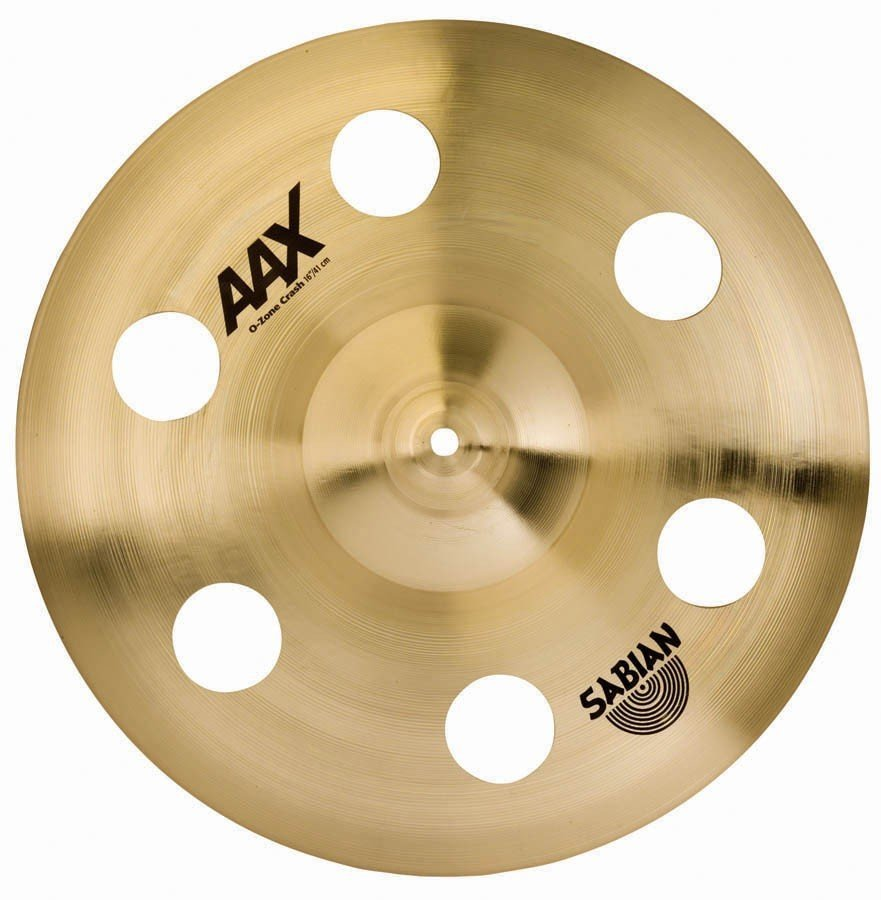 View larger image of Sabian AAX O-Zone Crash Cymbal - 16, Brilliant