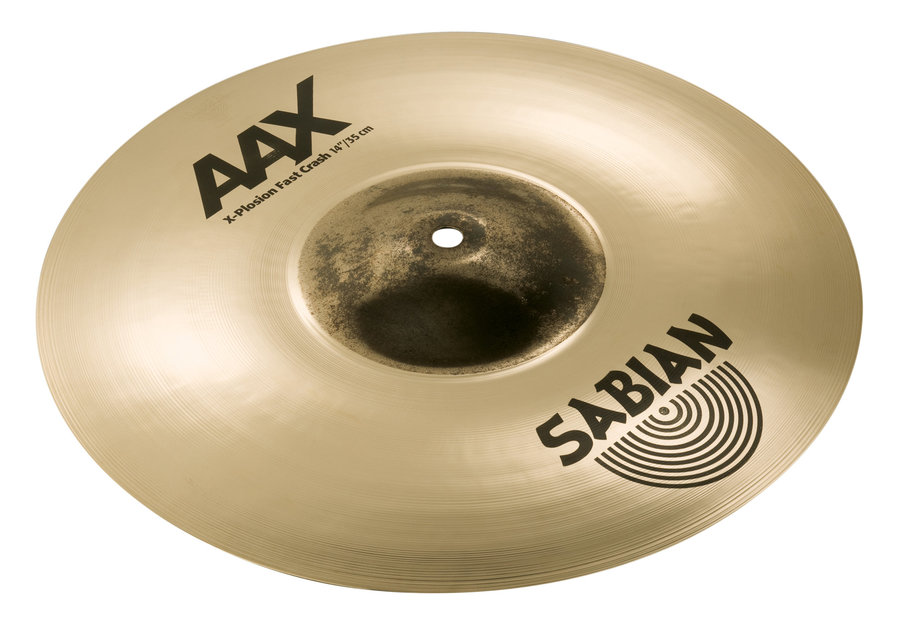View larger image of Sabian AAX X-Plosion Fast Crash Cymbal - 14, Brilliant