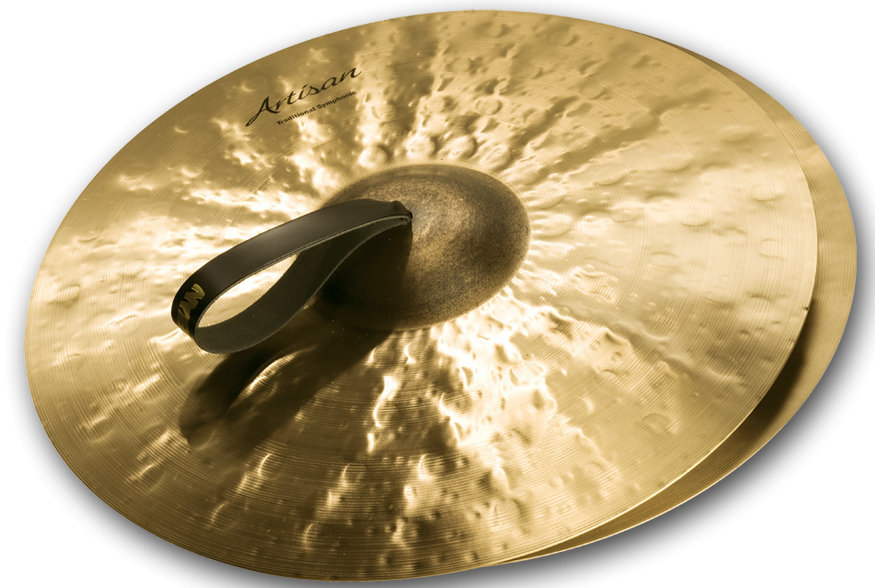 View larger image of Sabian Artisan Traditional Symphonic Medium Heavy Cymbal - 19, Brilliant