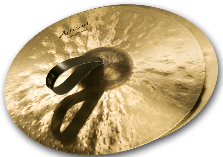 View larger image of Sabian Artisan Traditional Symphonic Medium Light Cymbal - 18, Brilliant