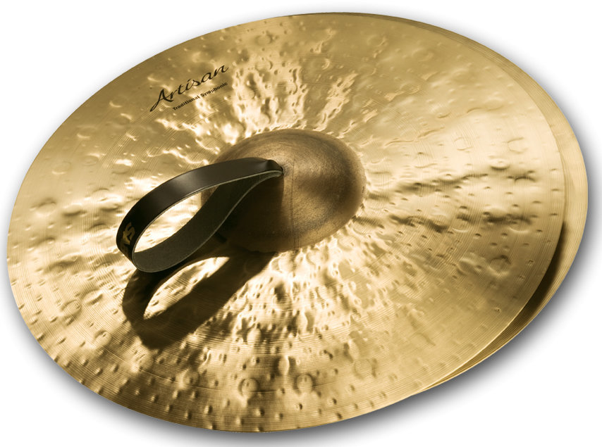 View larger image of Sabian Artisan Traditional Symphonic Medium Light Cymbal - 19, Brilliant
