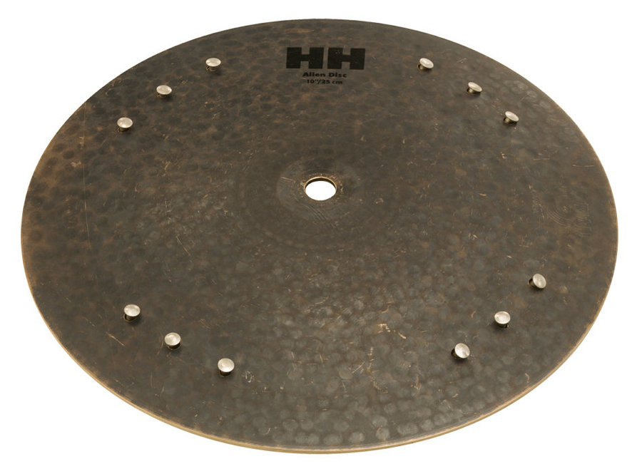 View larger image of Sabian HH Alien Disc Percussion Cymbal - 10