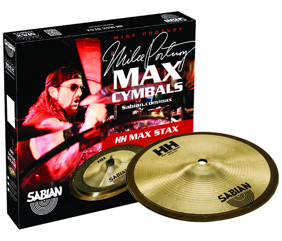 View larger image of Sabian HH High Max Stax Cymbal