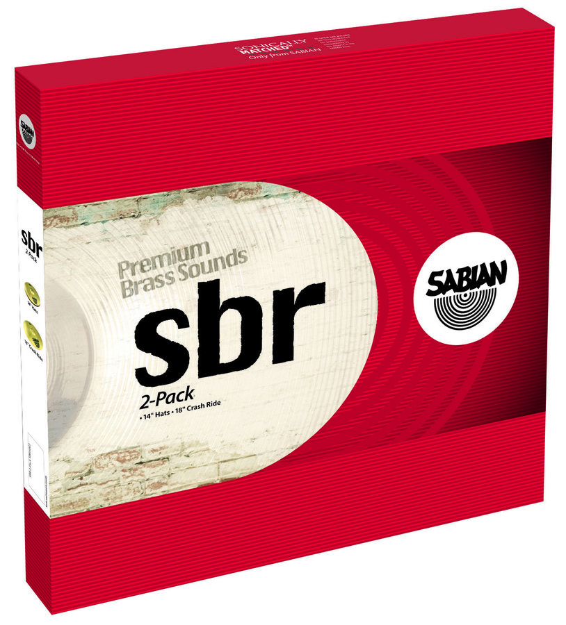 View larger image of Sabian SBR Cymbal Pack - 14/18