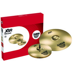 Sabian XSR5011B XSR First Cymbal Pack with 14 Hats