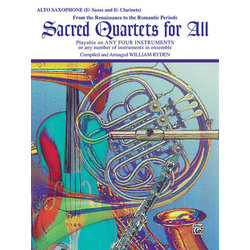 Sacred Quartets for All - Alto Sax