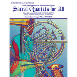 Sacred Quartets for All - Clarinet