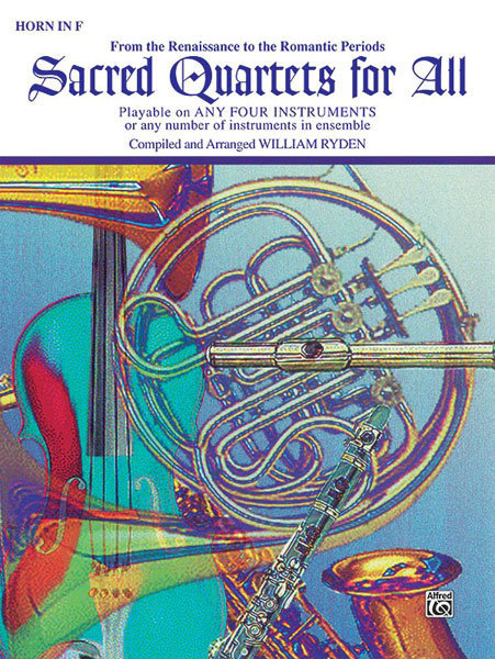 View larger image of Sacred Quartets for All - F Horn