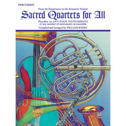Sacred Quartets for All - Percussion