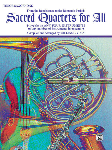 View larger image of Sacred Quartets for All - Tenor Sax