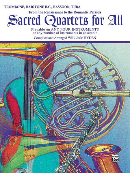 View larger image of Sacred Quartets for All - Trombone