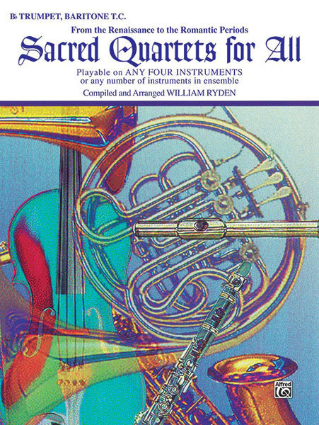 View larger image of Sacred Quartets for All - Trumpet