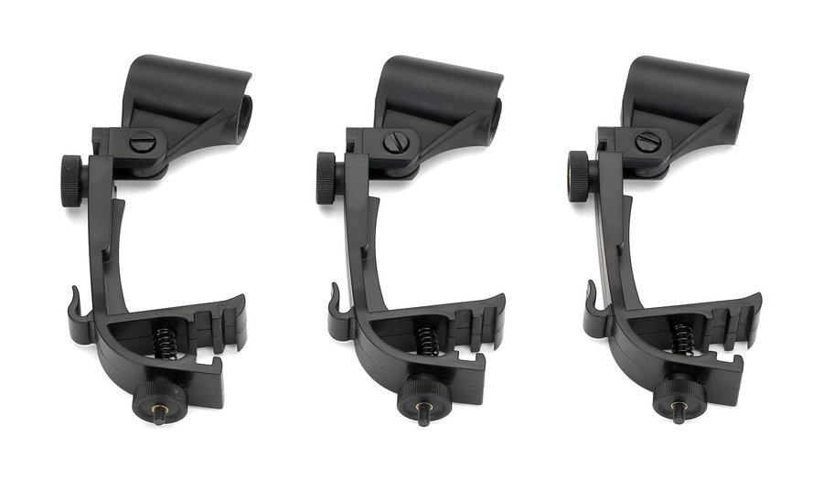 View larger image of Samson DMC1000 Drum Microphone Clip - 3-Pack