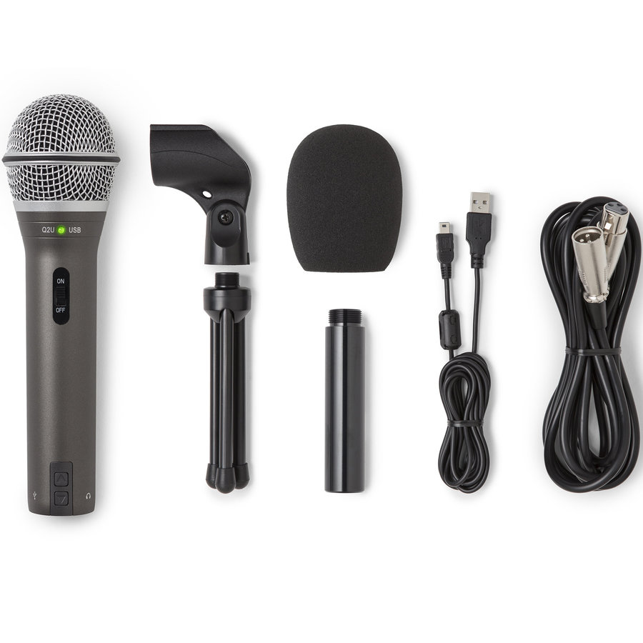 View larger image of Samson Q2U Recording and Podcasting Pack