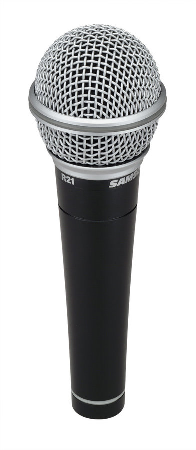 View larger image of Samson R21 Dynamic Vocal/Presentation Microphone - 3-Pack