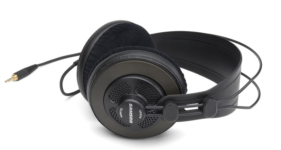 View larger image of Samson SR850 Professional Studio Reference Headphones