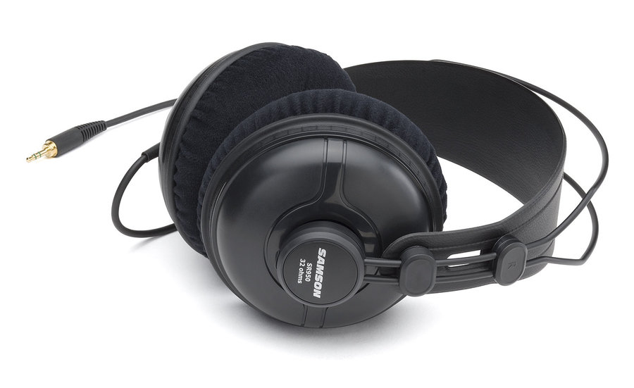 View larger image of Samson SR950 Professional Studio Reference Headphones