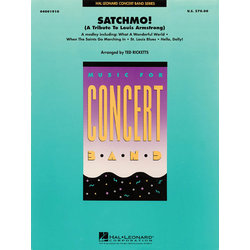 Satchmo! (Tribute to Louis Armstrong) - Score & Parts, Grade 4