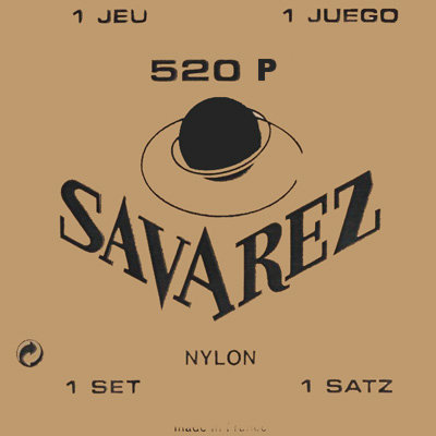 View larger image of Savarez 520P Traditional Classical Guitar Strings