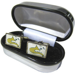Saxophone Cuff Links
