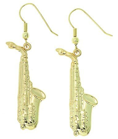 View larger image of Saxophone Earrings