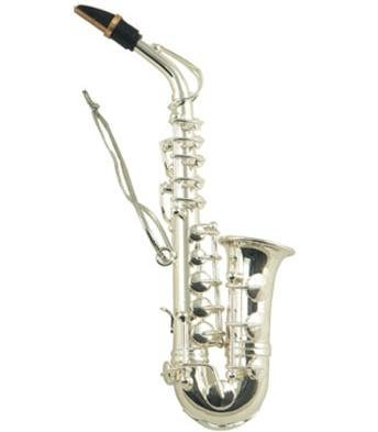 View larger image of Saxophone Ornament - Silver, 4-1/2