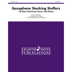 Saxophone Stocking Stuffers - (Alto Sax Duet)