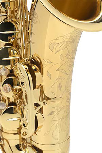 View larger image of Selmer Axos by SeleS Professional Tenor Saxophone - Gold Lacquer