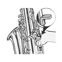 View larger image of Saxophone Thumbsaver