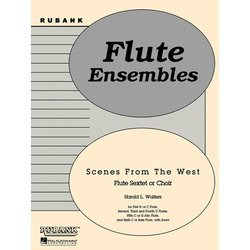 Scenes from the West - Flute Sextet/Choir
