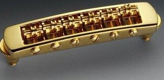 View larger image of Schaller Gold Roller Tunermatic
