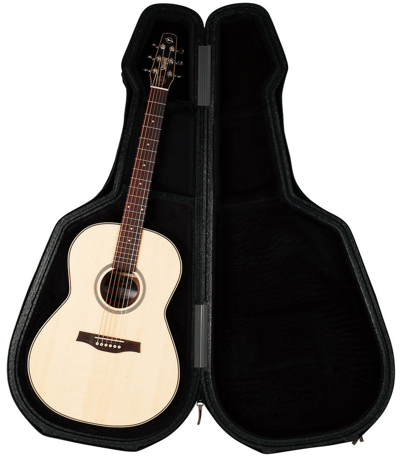 View larger image of Seagull Deluxe TRIC Case for Folk/Concert Hall Guitars