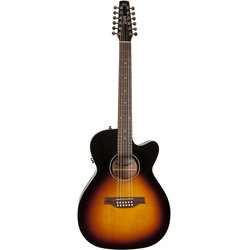 Seagull S12 12-String Acoustic-Electric Guitar - Sunburst