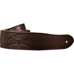 Seagull The Hollywood Series Guitar Strap - Brown