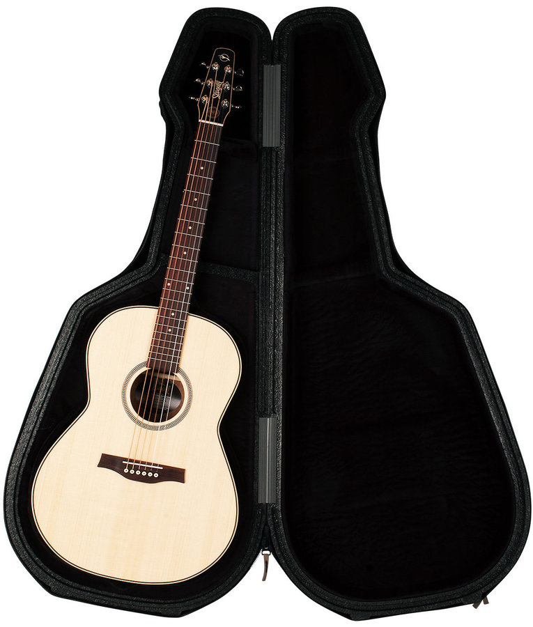 View larger image of Seagull Tric Acoustic Guitar Case - Black