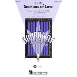 Seasons of Love (from Rent), 2PT Parts