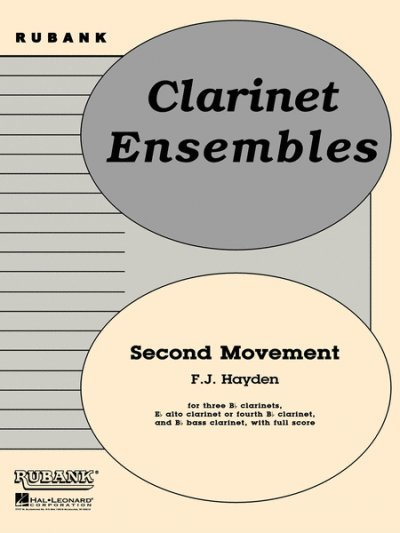 View larger image of Second Movement from Symphony No.100 - Clarinet Ensemble