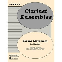 Second Movement from Symphony No.100 - Clarinet Ensemble
