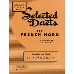 Selected Duets For French Horn Vol.2 - (Advanced)