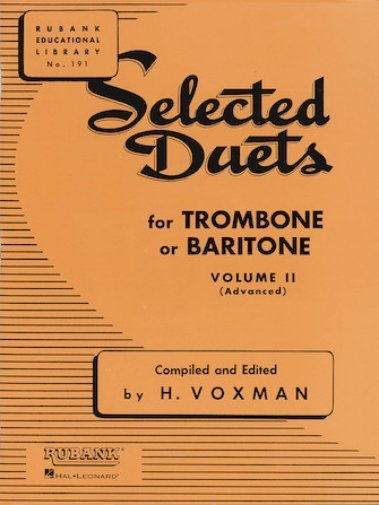 View larger image of Selected Duets Vol.2 - Trombone (Advanced)