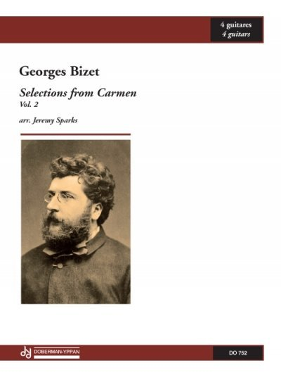 View larger image of Selections From Carmen, Vol.2 (Bizet) - Guitar Quartet