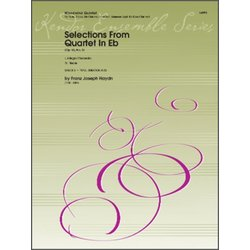 Selections From Quartet in Eflt (Op.33 No.2) - Woodwind Quintet
