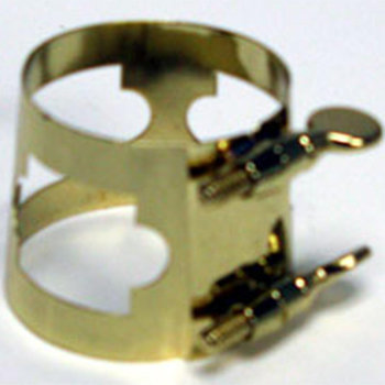 View larger image of Selmer USA 1698 Baritone Saxophone Ligature - Gold-Lacquered